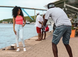 Downtown Curacao Photoshoot Experience