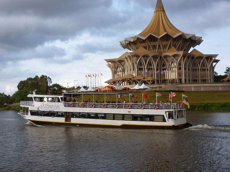 Show item 2 of 10. Sarawak Sunset River Cruise Tour from Kuching
