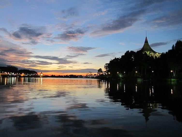 Show item 4 of 10. Sarawak Sunset River Cruise Tour from Kuching
