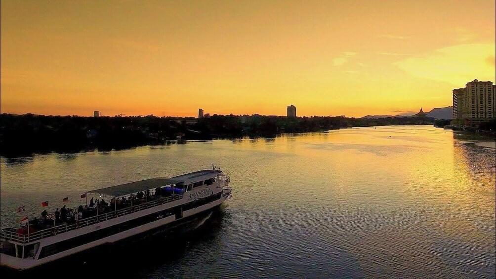 Show item 1 of 10. Sarawak Sunset River Cruise Tour from Kuching