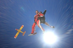 Tandem Skydive 20,000ft from Franz Josef