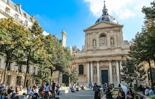 Paris 360 view from Pantheon Dome & Latin Quarter Tour