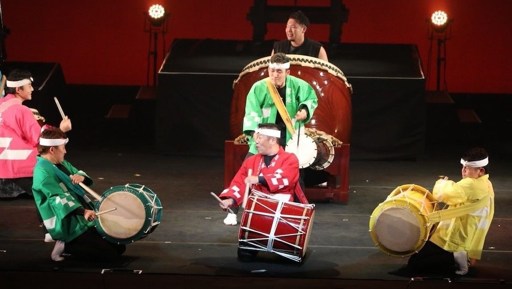 Show item 3 of 3. Make a Japanese Drum