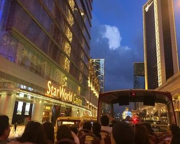 Opentop Night City tour of Macau with Transfers