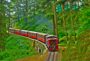 Toy train ride-Shimla