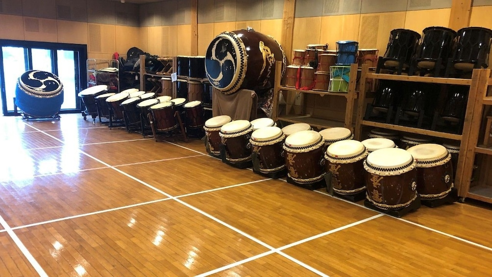 Show item 4 of 4. Traditional Japanese Drum Experience