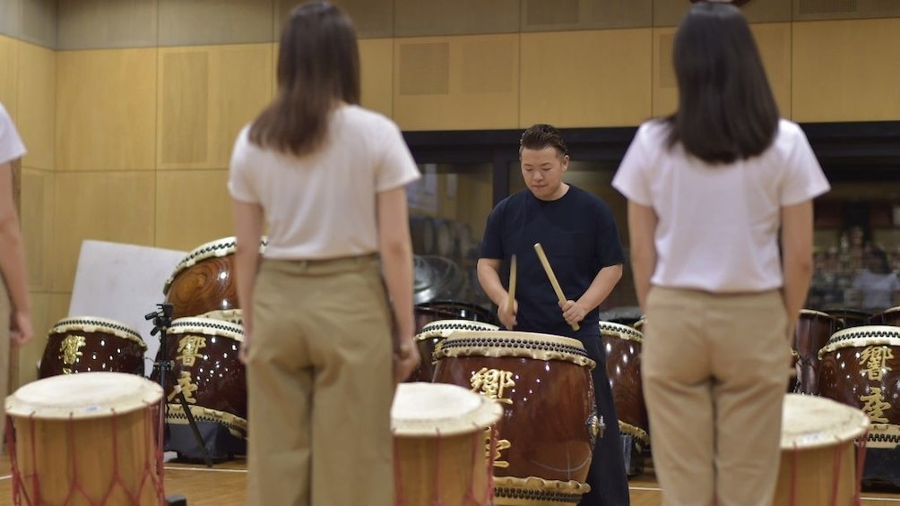 Show item 3 of 4. Traditional Japanese Drum Experience