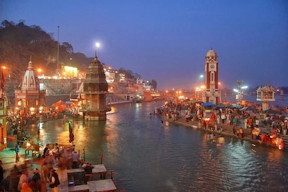 Haridwar and Rishikesh 1 Day Tour from Delhi With Lunch