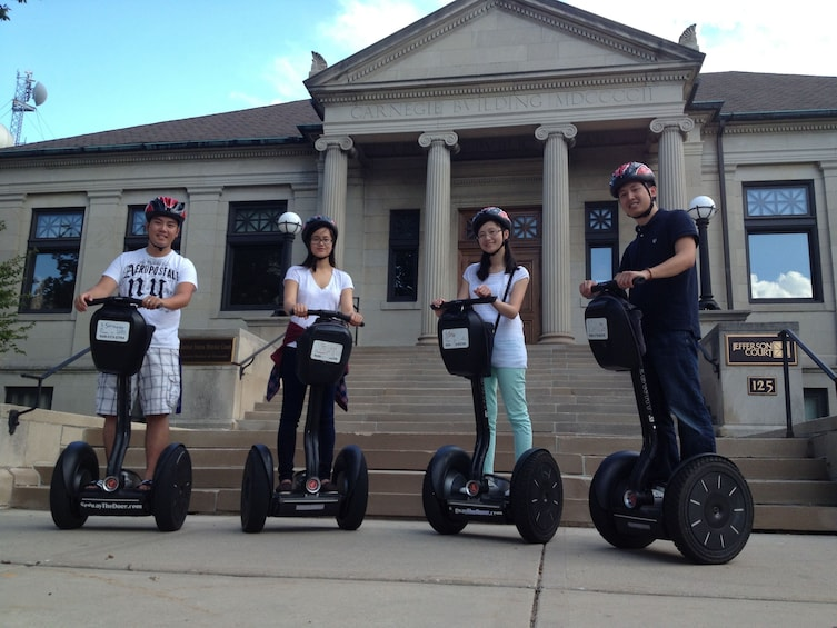 Show item 3 of 7. Everything Green Bay Segway Tour