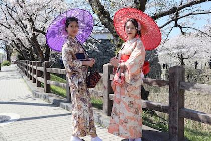 Dressed up with KIMONO in FUKUOKA