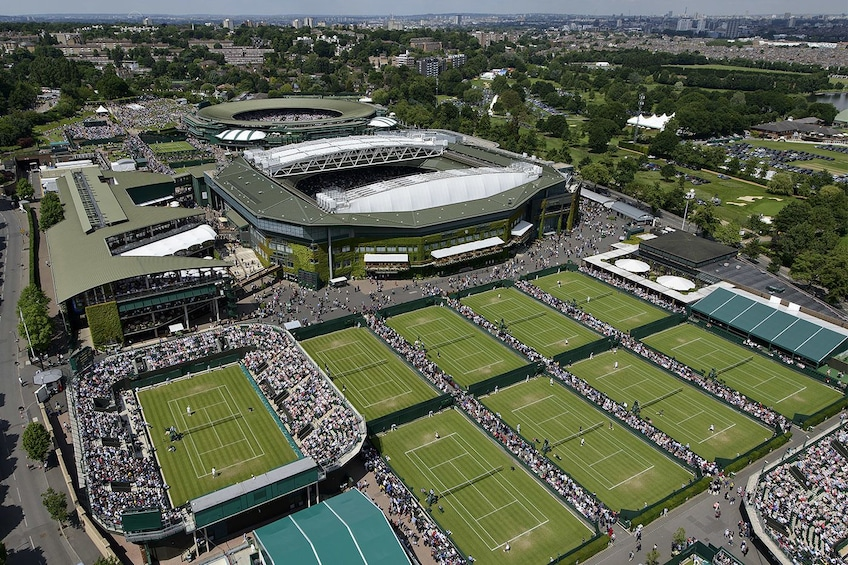 Show item 1 of 4. Wimbledon Lawn Tennis Museum Entrance Ticket