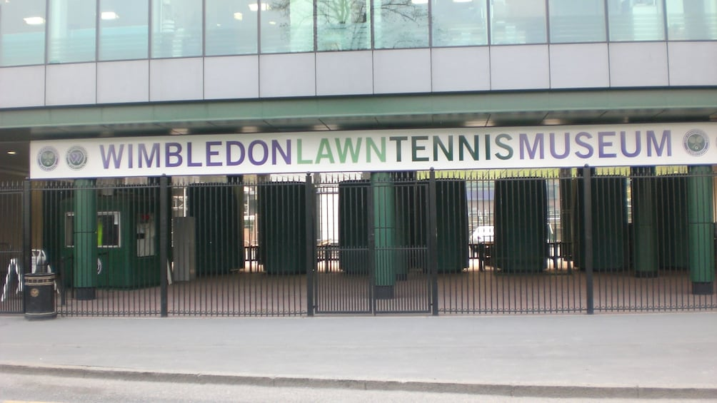 Show item 2 of 4. Wimbledon Lawn Tennis Museum Entrance Ticket