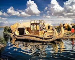 2 day and 1 night tour to Lake Titicaca from Cusco.