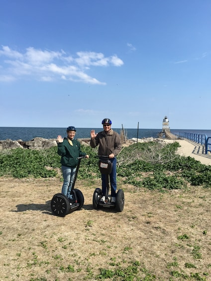 Show item 3 of 7. Manitowoc On the Coast Segway Tour