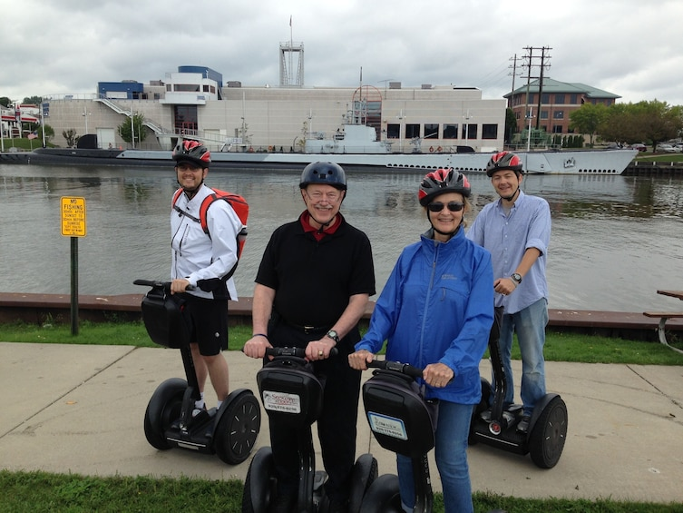 Show item 2 of 7. Manitowoc On the Coast Segway Tour