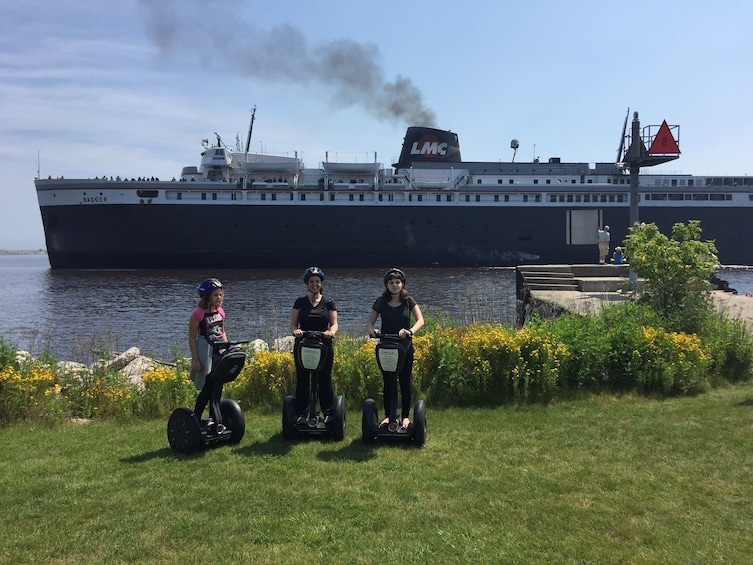 Show item 1 of 7. Manitowoc On the Coast Segway Tour