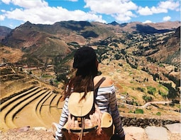 Sacred Valley with archaeological park of Ollantaytambo