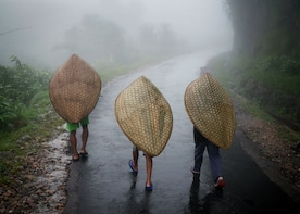 Excursion to Mawsynram - the wettest place on earth-Shillong