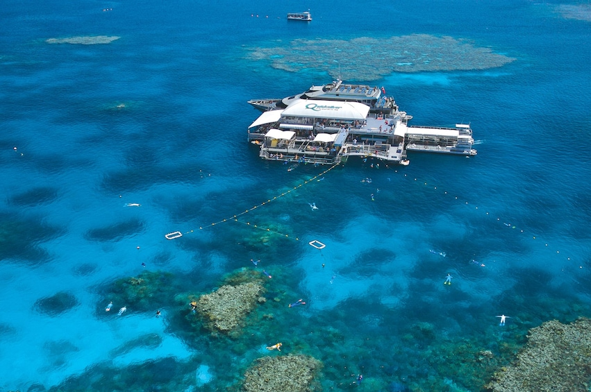 Show item 1 of 8. Quicksilver Great Barrier Reef Agincourt Reef Cruise