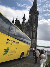 Rail Tours Ireland bus in Ireland