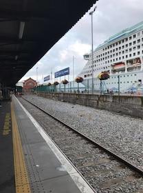 Cruise pier in Cobh