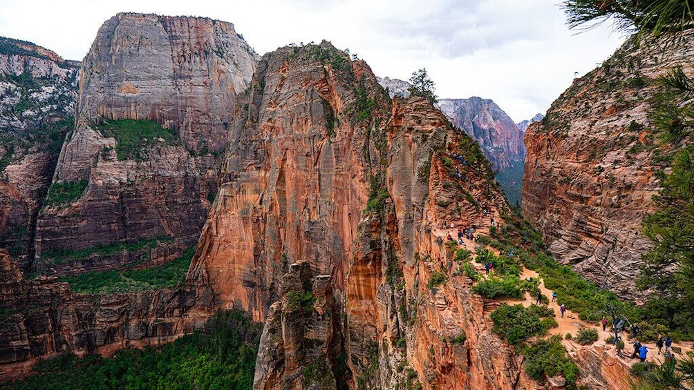 Show item 4 of 10. Zion and Bryce Canyon National Parks Bus Tour From Las Vegas