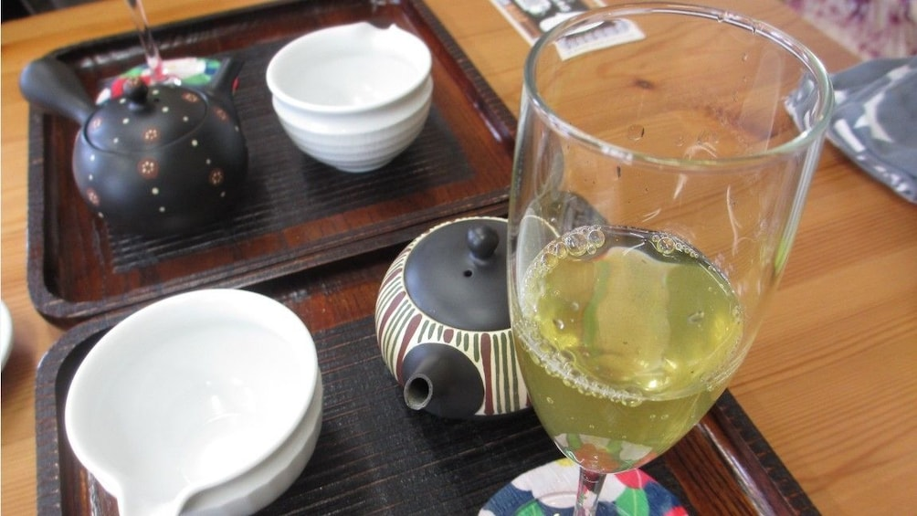 Show item 3 of 4. Make Delicious Miyakonojo Tea with Mt. Kirishima's PureWater