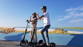 Jeju e-scooter Riding by the Sea: EV Pass