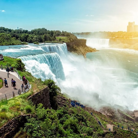 Show item 2 of 5. 3 Day NiagaraFalls+Tornoto Tour (NYC departure) TR3