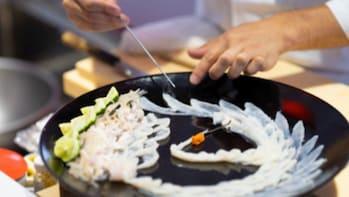 Fugu Workshop in the Kamo Aquarium