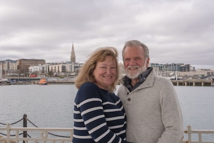 Private Cple Photoshoot on the sea side of Dun Laoghaire