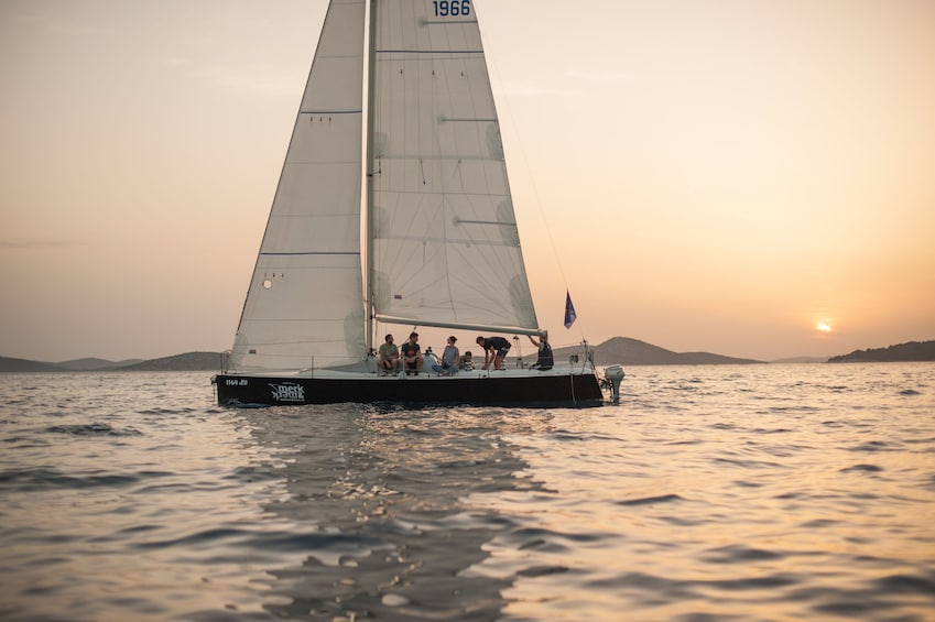 """Show item 1 of 6. """"Sunset Special"""" by Fortunato Sailing"""