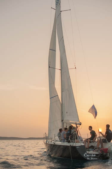 """Show item 2 of 6. """"Sunset Special"""" by Fortunato Sailing"""