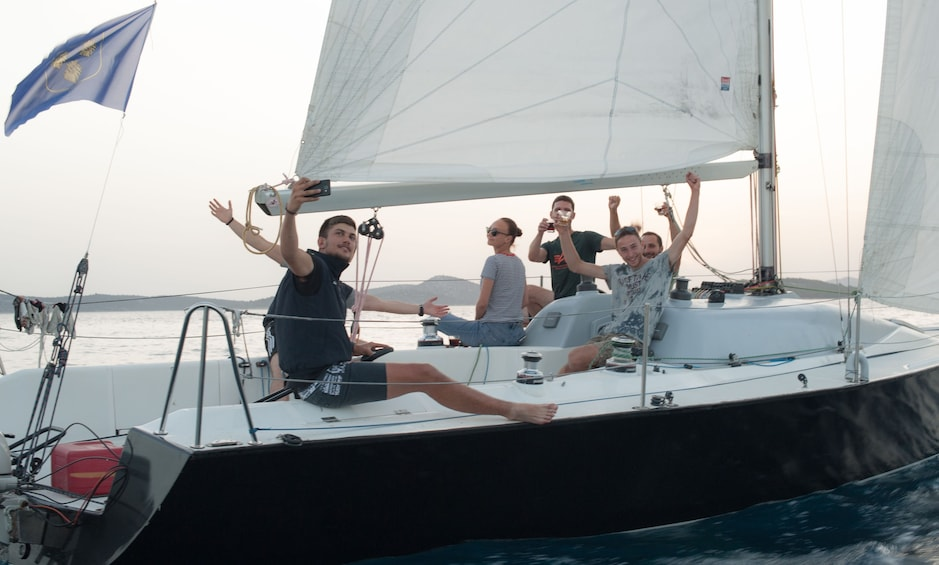 """Show item 4 of 6. """"Sunset Special"""" by Fortunato Sailing"""
