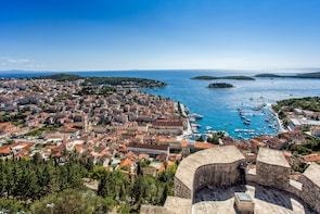 Hvar Town by speed boat