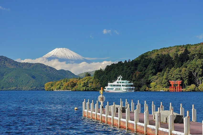 Show item 5 of 6. 10-hour Mt.Fuji & Hakone tour to/from Tokyo with Private Car