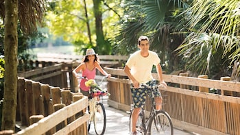 Bike Tour of Celebration, the Town that Disney Built