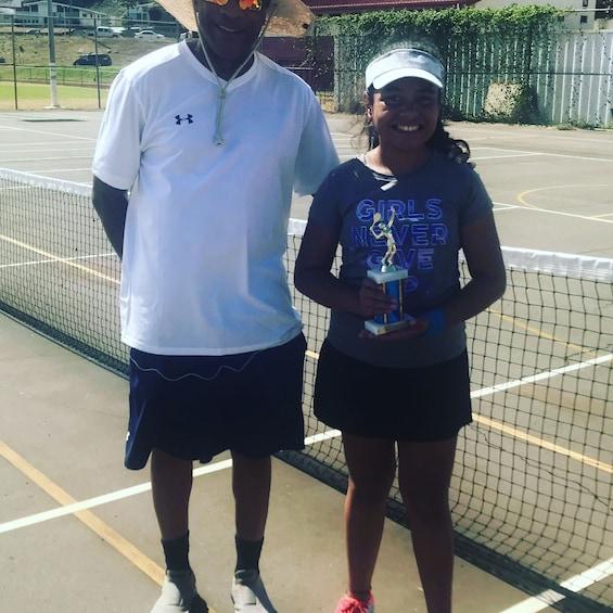 World Class Private Tennis Lesson