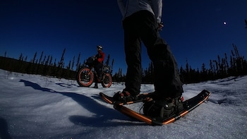 Guided Snowshoeing Through the Wilderness