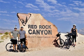 Red Rock Canyon Self-Guided Electric Bike Tour. No-Pick-up