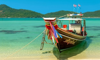 Tour by Long-tailed Boat to Koh Taen & Koh Madsum (Pig Island)
