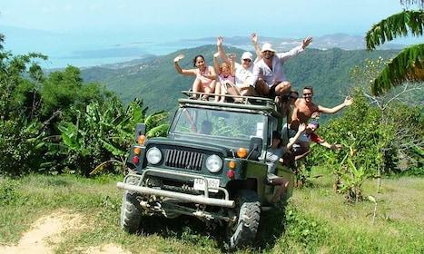 Just Jungle Eco Safari around Koh Samui without Animal Shows