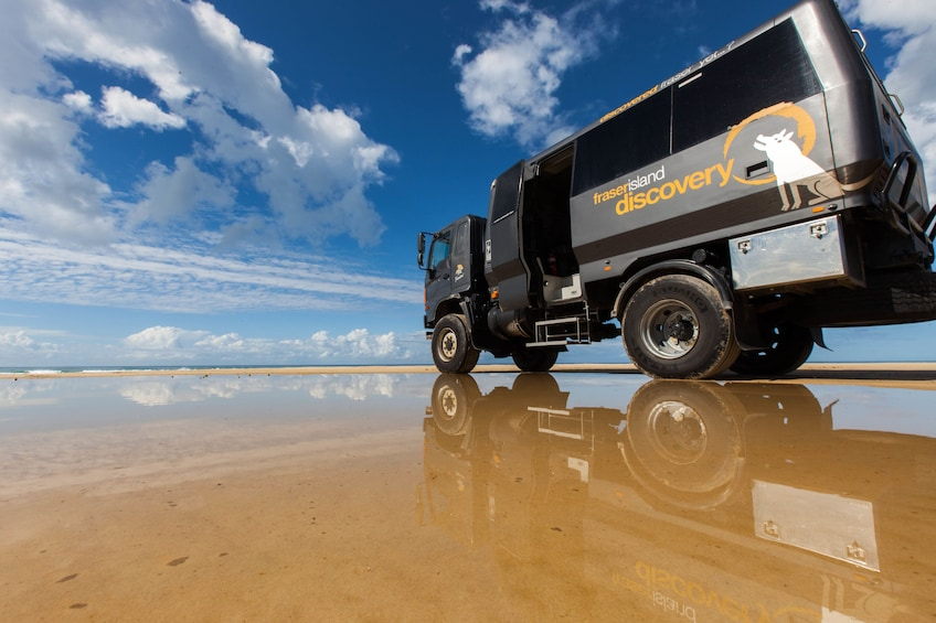 Show item 2 of 4. Fraser Island 4WD Warrior Day Tour departing Noosa