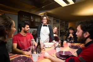 Dining experience at a local's home in Montepulciano