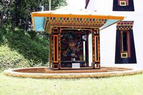 Visit Institute of Tibetology & walking tour of main market
