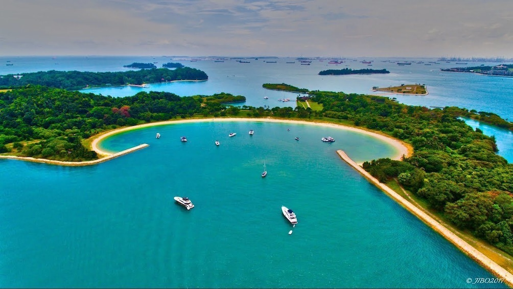 Show item 8 of 8. 4 hour cruise to the Singapore Southern Islands