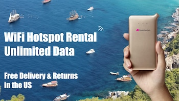 United States WiFi rental - Free delivery in USA