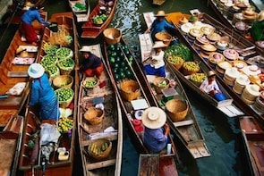 BANGKOK: Private Tour Half Day Damnoen Saduak Floating Market