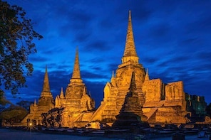 Ayutthaya Temples Tour with River Cruise from Bangkok