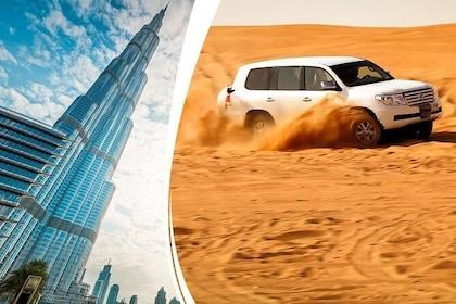Trio Package Dubai City Tour,Marina Cruise,30-mins Quad Bike Desert Safari